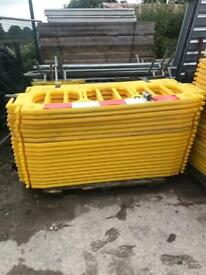 Used chapter eight pedestrian barriers £15 each