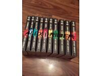 Set of 10 Alex Rider books by Anthony Horowitz