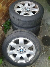 BMW Rims with Tyres 205/55/r16