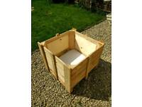 Large wooden planter free local delivery