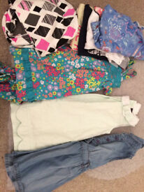 Bundle of girls clothes, 18-24m