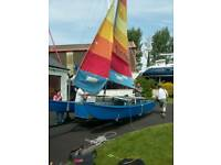 Hobie cat Sailing boat 16 ft catamaran