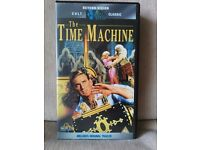 The Time machine VHS video tape