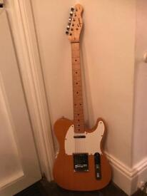 Fender Squire Telecaster - W / Bareknuckle Pick Ups