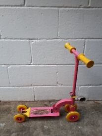Kid scooter Pink