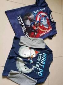 Boys t-shirts age 9-10 year