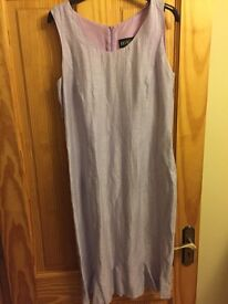 Lovely pale lilac silk dress