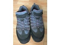 Mountain Warehouse Quarry Womens Waterproof IsoGrip Shoes Grey 7 UK + free delivery