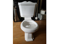 Quality Close coupled cistern, Pan and seat