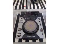 Single pioneer cdj400 dj cd deck with usb play