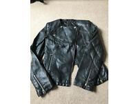 Miss Selfridge real leather jacket