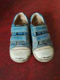 Start-rite leather trainers, 7.5F