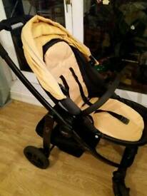 Graco EVO Stroller Travel System Yellow