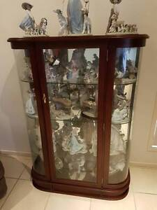 Beautiful Display Cabinet with Curved Glass Hope Island Gold Coast North Preview