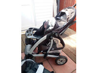 graco complete tavel system with extra car seat base