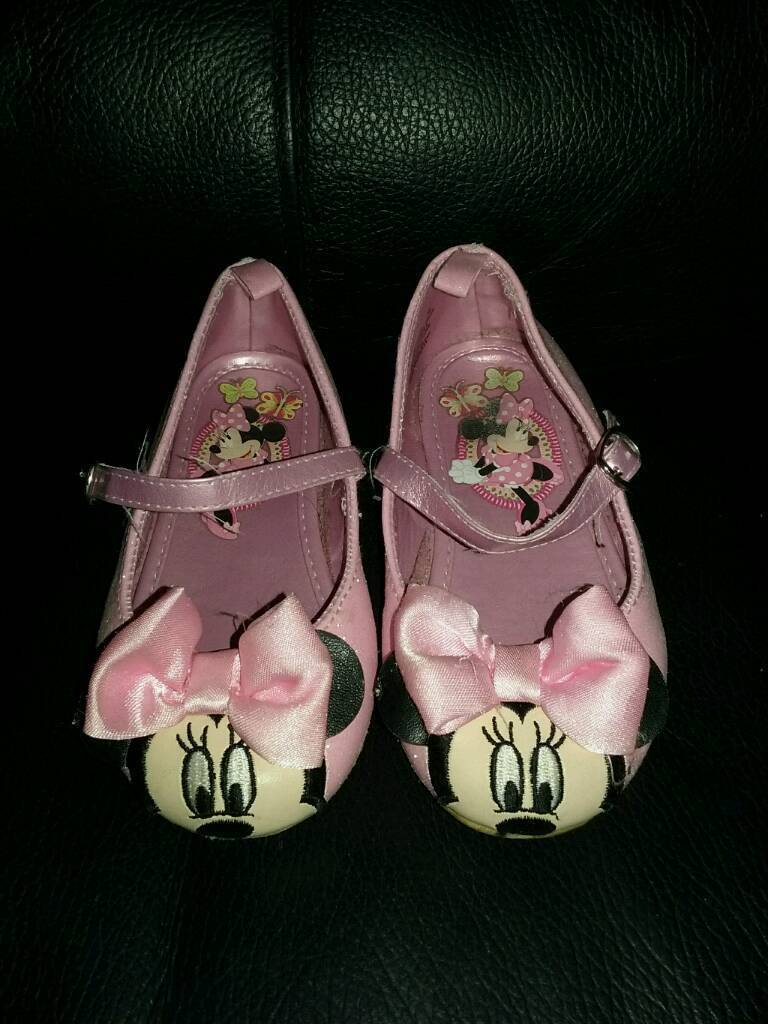 Kids Minnie mouse shoes
