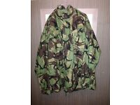 combat jackets x3 plus dpm waterproof jacket (£5 EACH)