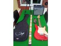 3/4 Fender Squier guitar package.