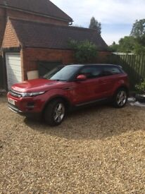 Range Rover Evoque SE pure tech with pano roof