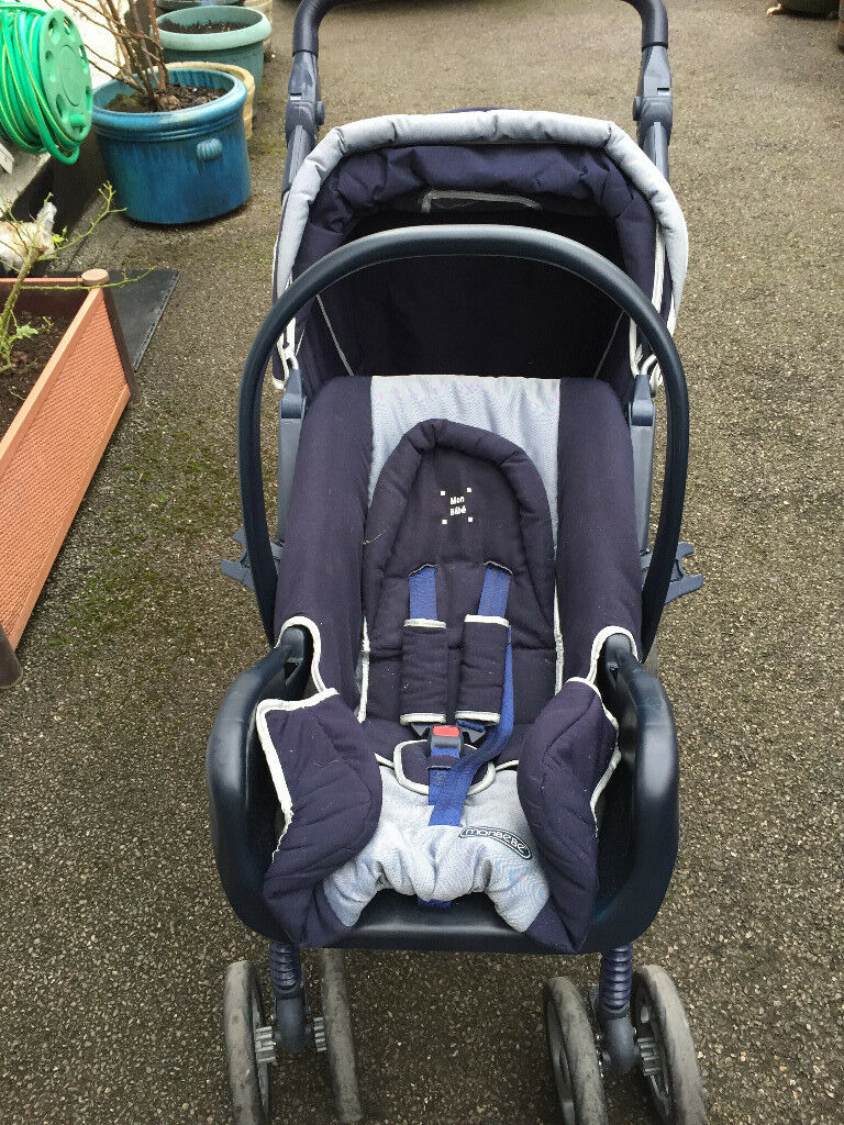 Pushchair & car seat in good condition for sale