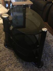 Black glass unit