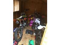 2 pit bikes 125cc & 140cc both yx engines