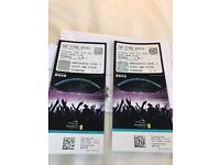 Stone roses tickets x2