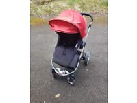 Icandy apple 2 pear apple to pear pram pushchair twin tandem buggy