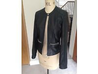 Real Leather Mango Jacket