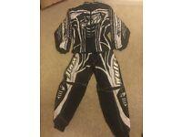 Wolf sport motorbike suit