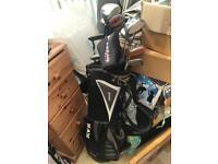 Ram golf bag and clubs