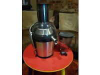 PHILLIPS AVANCE COLLECTION HR1871/00 800 WATT JUICER.....USED ONCE