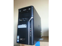 Acer Office PC, Pentium E2140, Office 2010 Home and Business inc Outlook, Windows 7, Geforce 6600