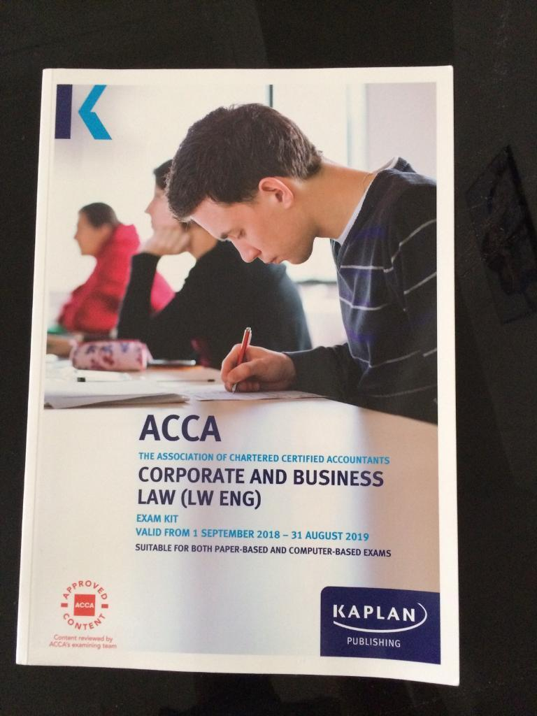 ACCA F4 English Law exam kit book | in Eastham, London | Gumtree