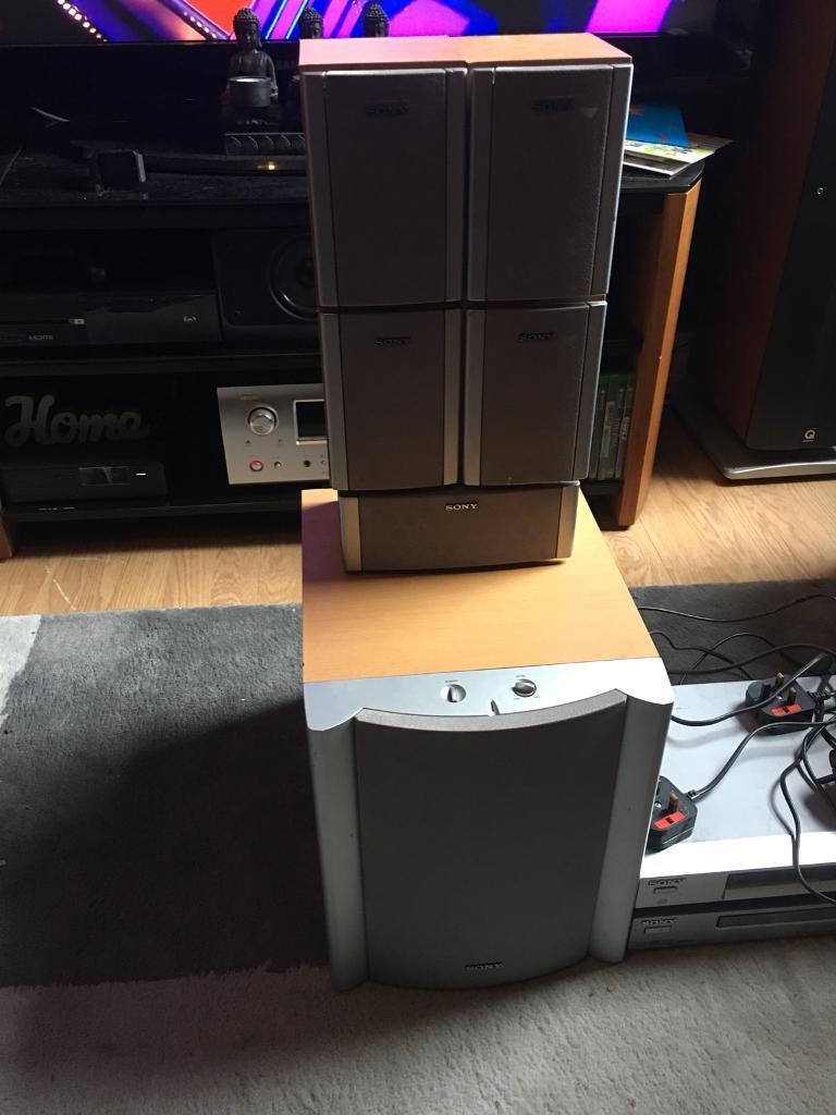 Sony 5.1 surround sound system