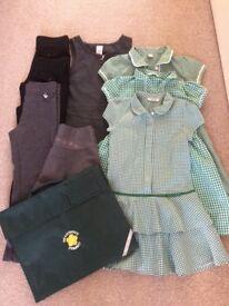 Girl school uniform 5-6 years