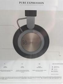 Brand new Bang & Olufsen H4 wireless headphones