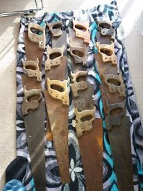Rusty Old Handsaws. DIY Projects £15 EACH