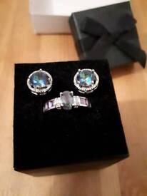 Ring/earring set