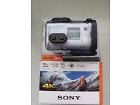 Sony FDR-X1000V 4k Action Camera