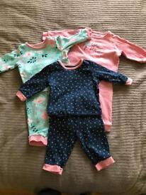 Huge bundle of baby girl clothes