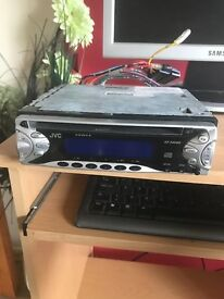 Jvc car radio/cd player