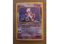 RARE 1st edition holographic Pokemon cards