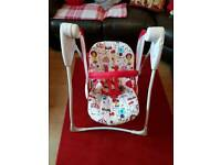 Graco baby delight swing for sale