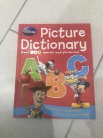 Disney ABC picture dictionary NEW