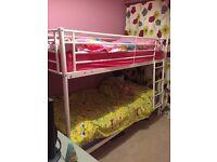 Bunk beds without mattress'