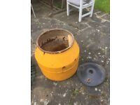 Cement mixer Drum