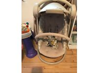 Baby swing £60. Mammas and papas