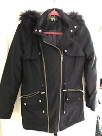 Ladies lipsy London coat size 10 like new