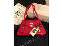Designer Peter Kaiser Red Bag BNWT